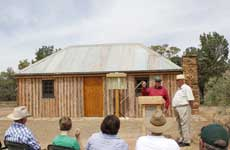 The official Guide Hut opening.