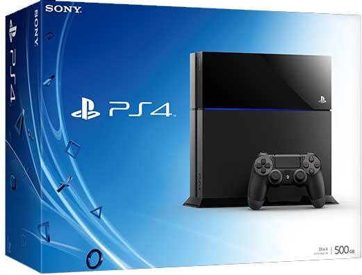 Sony PS4 Australia 500gb hdd size storage