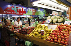 Thompson fresh fruit and veg - Adelaide Central Market