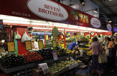 Seven Brothers stall - Adelaide Central Market