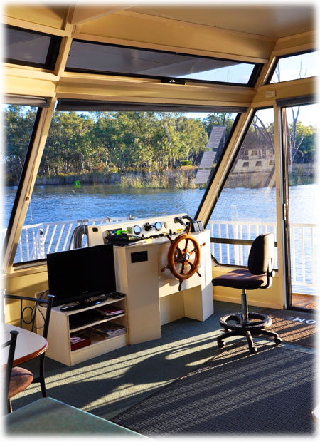 River Rat Houseboat Interior